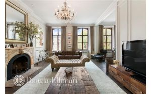 The apartment is located just across from the New York Seminary. (Douglas Elliman)