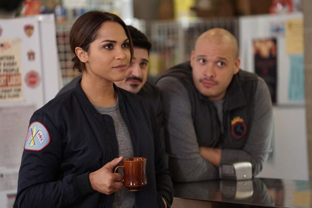 Putting out you-know-whats on Chicago Fire. (NBC)