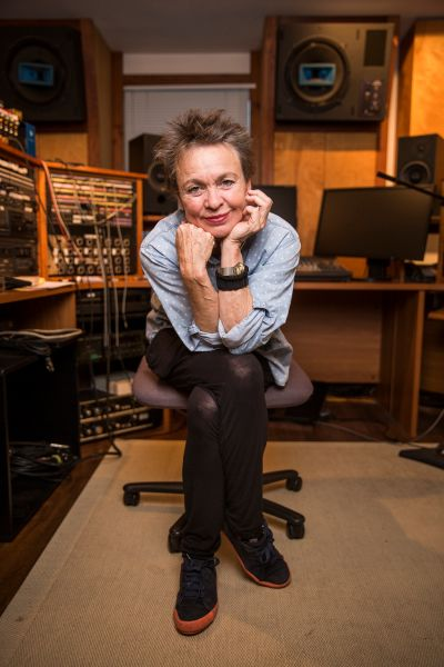 Laurie Anderson. (Photo: Trevor Reid for Observer)