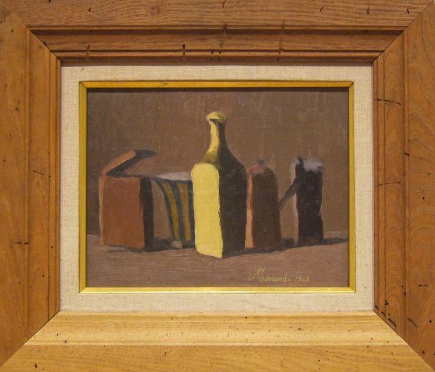 A Giorgio Morandi still life from 1942.