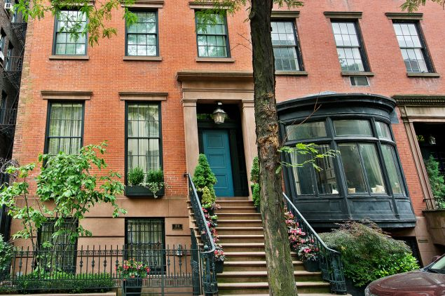 Andrea Soros Colombel has parted ways with this stunning Greenwich Village townhouse. (CORE)