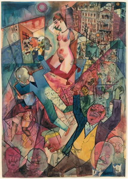 2. George Grosz, Panorama, 1919 (1)