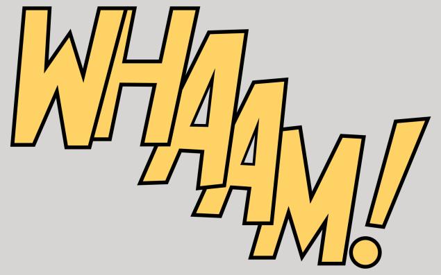 Whaam! A early Roy Lichtenstein made in 1963.