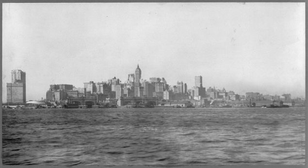 Lower Manhattan, 1911, Library of Congress. (via army.arch/flickr)