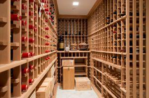 They added a custom wine cellar in the basement. (Juris Mardwig)