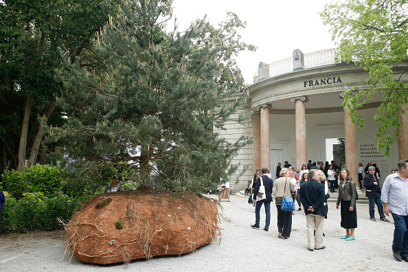 the French pavilion on May 6, 2015 in Venice, Italy. (Photo by Bertrand Rindoff Petroff/Getty Images)