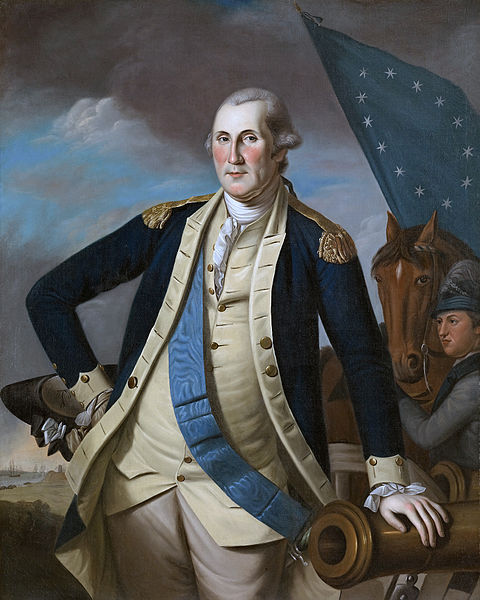 'George Washington' 1780-82 by Charles Willson Peale, from the collection at the Crystal Bridges Museum of Art.