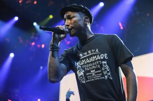 Pharrell will kick off his residency with a career retrospective event next Monday, moderate by NYU professor and NPR Music head (Getty Images)