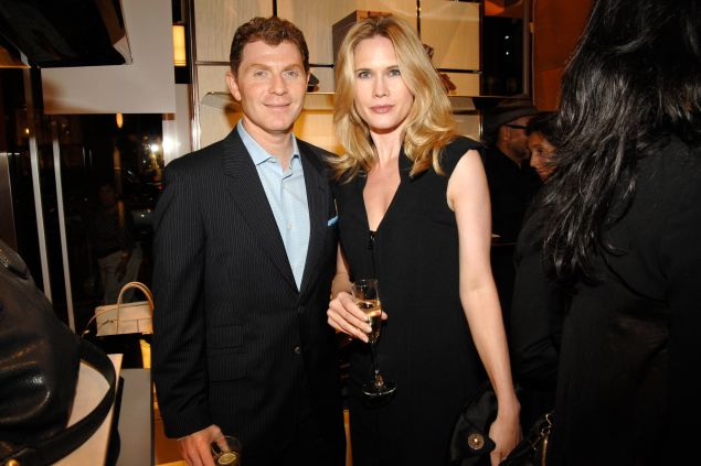Bobby Flay lived with his ex-wife Stephanie March in the Chelsea Mercantile duplex he's saying good bye to. (Patrick McMullan)