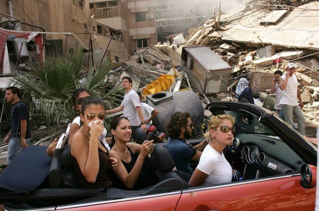 Mr. Platt's award-winning shot from Beirut. (Photo: Spencer Platt/Getty Images)