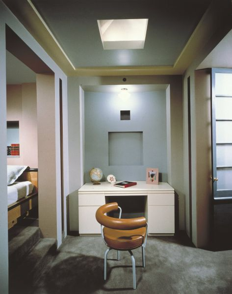 Michael Graves, Library and Child's Bedroom from the Reinhold Apartment at 101 Central Park West, New York, 1979-1981. (Photo: © Peter Aaron/Esto)