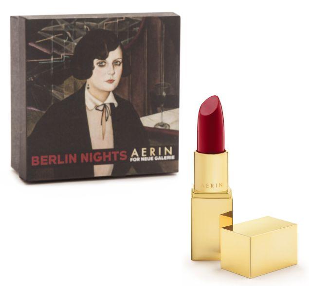 "Aerin Lipsticks, ""Berlin Nights,"" made for the Neue Galerie's exhibition ""Berlin Metropolis: 1918-1933."" (Photo: Hülya Kolabas for Neue Galerie New York)"