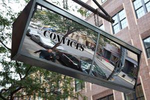 A shiny convicts sign (Photo: Courtesy Convicts).
