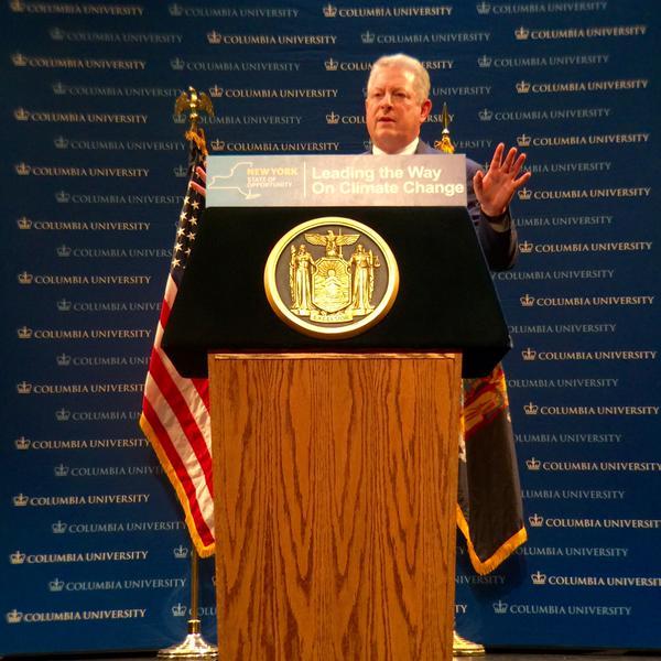 Former Vice President Al Gore (Photo: Gov. Andrew Cuomo's office).