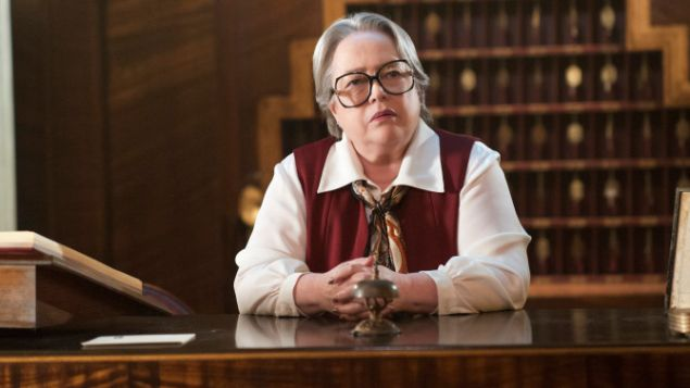 ARE YOU NOT TERRIFIED? Kathy Bates in American Horror Story: Hotel. (FX)