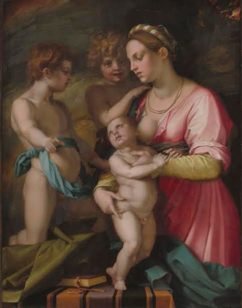 Andrea del Sarto, Charity, 1528–29. Courtesy National Gallery of Art, Washington, D.C., Samuel H. Kress Collection