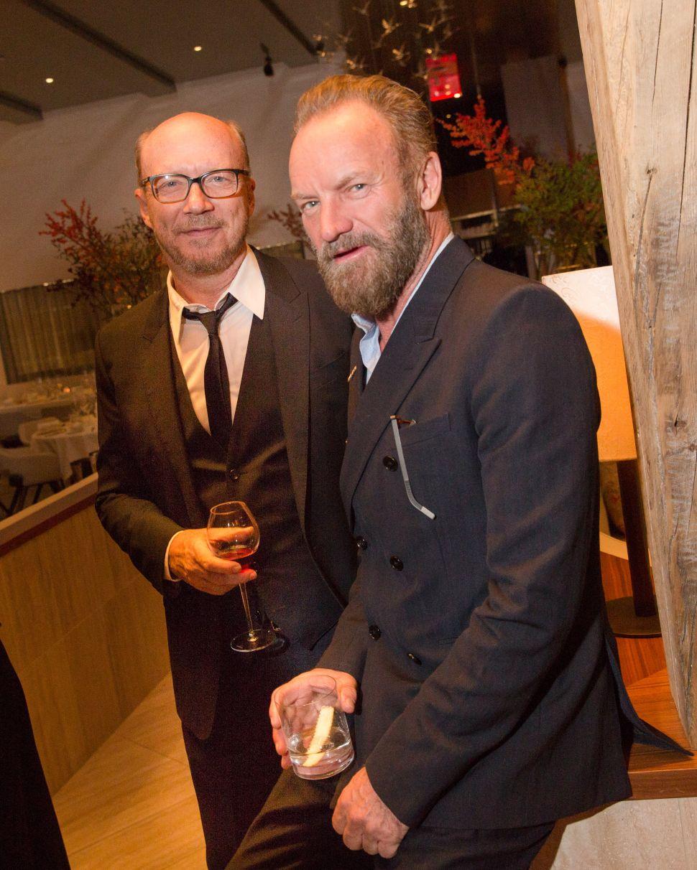 Sting, Paul Haggis (Photo: BFA).