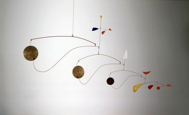 Alexander Calder, 'Antennae with Red and Blue Dots' 1953,
