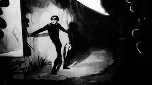 The Cabinet of Dr. Caligari, 1920, directed by Robert Wiene. Courtesy Morbid Anatomy Museum