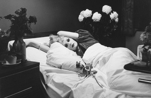 Detail from Peter Hujar, Candy Darling on her Deathbed, 1973, one of the few photographs offered that sold well above estimate. (Photo: Wikimedia Commons)