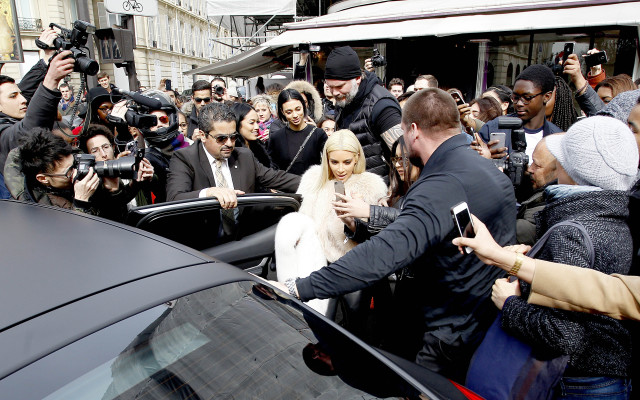 Kim Kardashian, Kris Jenner at L'Avenue (Photo: L'Avenue).
