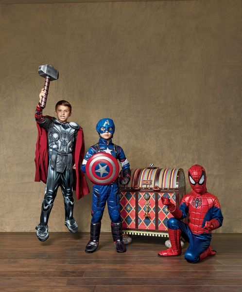 Make your children's holiday dreams come true with a treasure chest of costumes (Photo: Neiman Marcus)