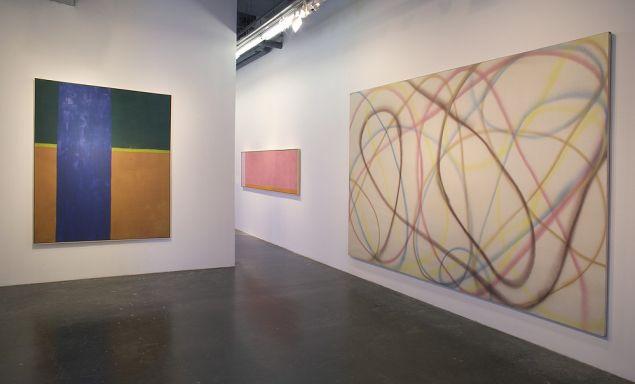Dan Christensen, A Retrospective, at Berry Campbell Gallery