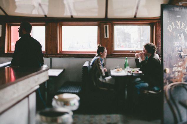 Diner. (Photo: Mel Barlow)