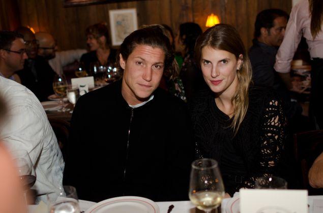 Vito Schnabel and Alexandra Economou.