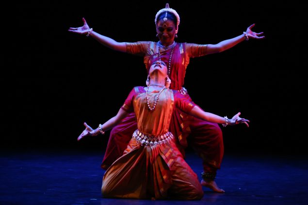 "Fall for Dance Festival Nrityagram ""Shivashtakam (An Ode to Shiva)"" Performers: Bijayini Satpathy, Surupa Sen New York City Center New York, N.Y. October 8, 2015 Photo Credit: Julieta Cervantes"