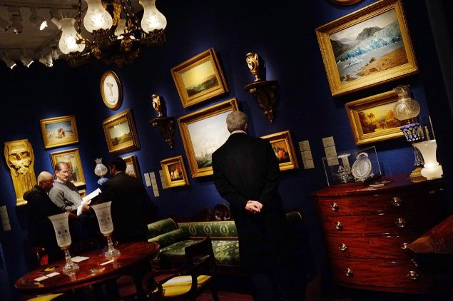 The Winter Antiques Show at the Park Avenue Armory (Photo by Spencer Platt/Getty Images).