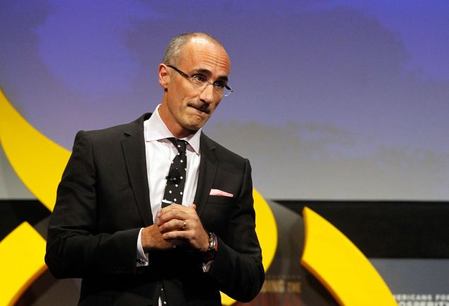 DALLAS, TX - AUGUST 29: AEI president Arthur C. Brooks speaks at the Defending the American Dream Summit sponsored by Americans For Prospertity at the Omni Hotel on August 29, 2014 in Dallas, Texas. (Photo by Mike Stone/Getty Images)