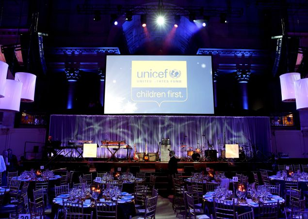 Tenth Annual UNICEF Snowflake Ball at Cipriani Wall Street on December 2, 2014. (Photo by Neilson Barnard/Getty Images for UNICEF)