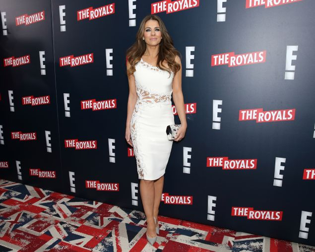 Hurley at the Royals premiere (Neilson Barnard/Getty Images)