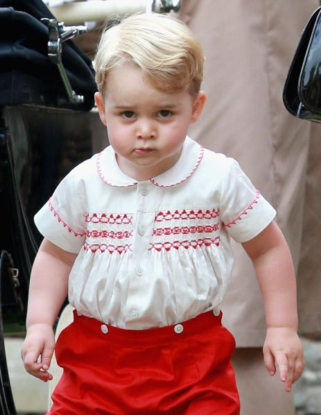 Prince George, miniature tyrant. (Photo: Chris Jackson/Getty Images)