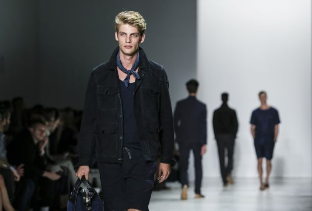 Todd Snyder's show at NYFWM (Photo: Kena Betancur/AFP/Getty Images)
