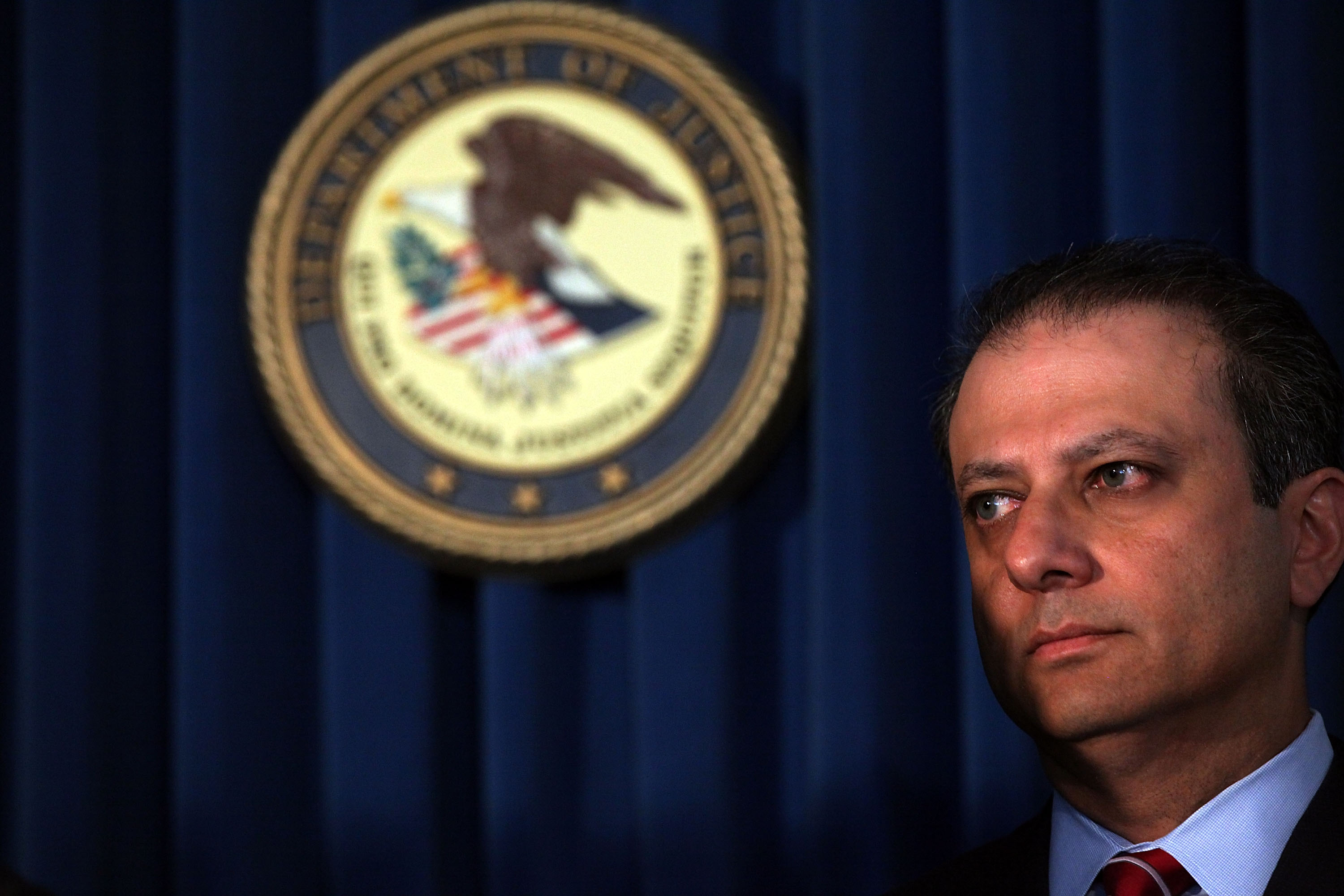 U.S. Attorney Preet Bharara. (Photo by Spencer Platt/Getty Images)