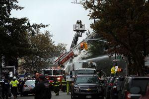 Borough Park gas explosion (Spencer Platt/Getty Images)