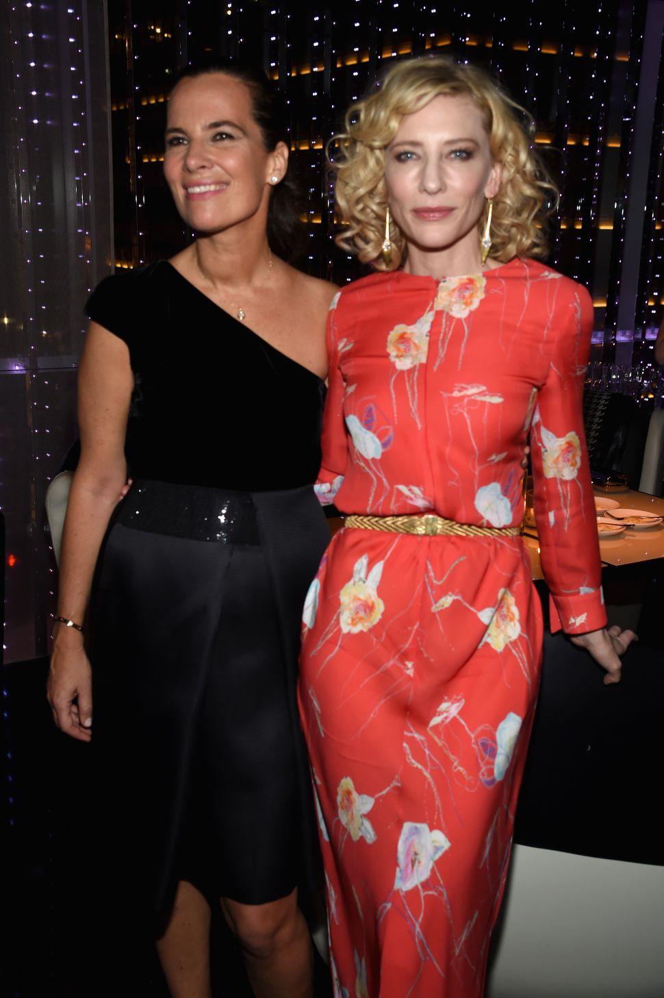 Roberta Armani, Cate Blanchett (Photo: Dimitrios Kambouris for Getty Images)
