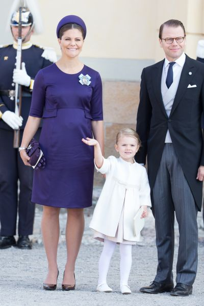 Princess Estelle—so well behaved. (Photo: Luca Teuchmann/Getty Images)