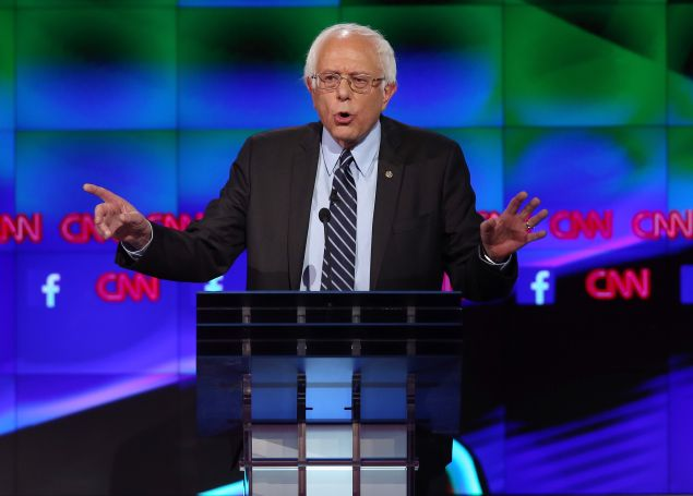 Sen. Bernie Sanders. (Photo: Joe Raedle/Getty Images)