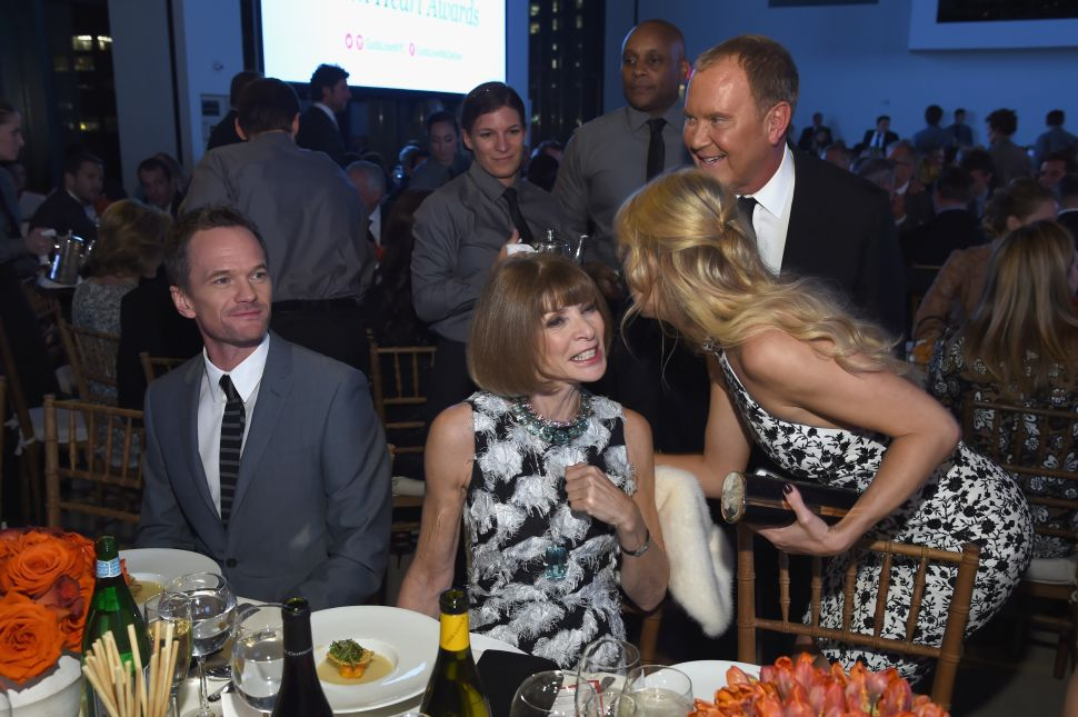 Neil Patrick Harris, Anna Wintour, Kate Hudson, Michael Kors (Photo by Nicholas Hunt/Getty Images for Michael Kors).