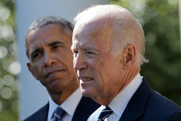 Vice President Joe Biden today. (Photo: Win McNamee/Getty Images)