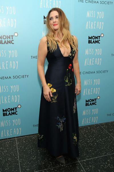 Drew Barrymore in Stella McCartney (Photo: Getty Images).