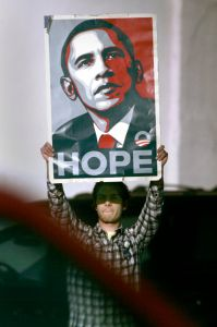 Remember Hope and Change? (photo: Mark Boster/Los Angeles Times via Getty Images)