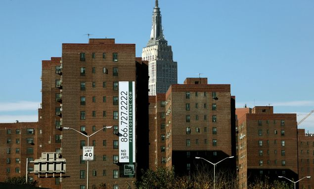 Stuy Town is on the verge of being sold to Blackstone Group for $5.3 billion. (Photo by Mario Tama/Getty Images)