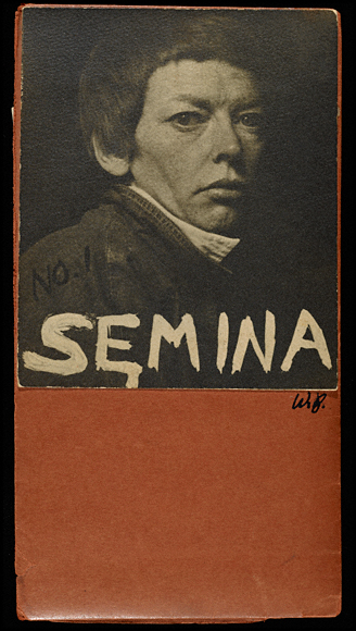 Semina cover with photograph of Cameron, 1955, Wallace Berman. Semina journal, no. 1 (1955) by Wallace Berman. Gelatin silver print mounted on cardstock. 7 1/2 x 4 in. The Getty Research Institute, 2564-801.no1.2. Courtesy of the Estate of Wallace Berman and Michael Kohn Gallery, Los Angeles - See more at: http://blogs.getty.edu/pacificstandardtime/explore-the-era/worksofart/semina-cover-with-photograph-of-cameron/#sthash.fprKj150.dpuf