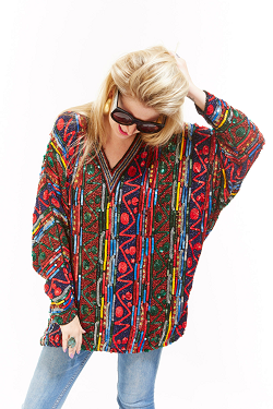A tunic from Spark Pretty. (Photo courtesy of Manhattan Vintage)