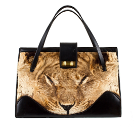 A lion bag from E-Collectique. (Photo cortesy of Manhattan Vintage)