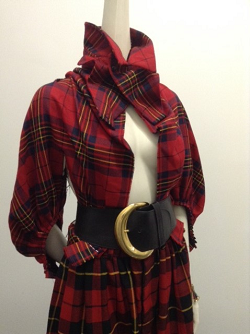 This plaid look is perfect for fall. (Photo courtesy of Manhattan Vintage)